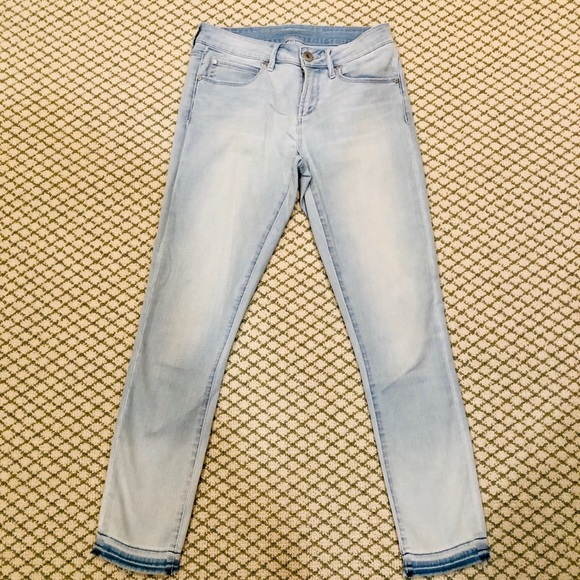 Articles Of Society Denim - Articles of Society Washed Skinny  Leg Jeans